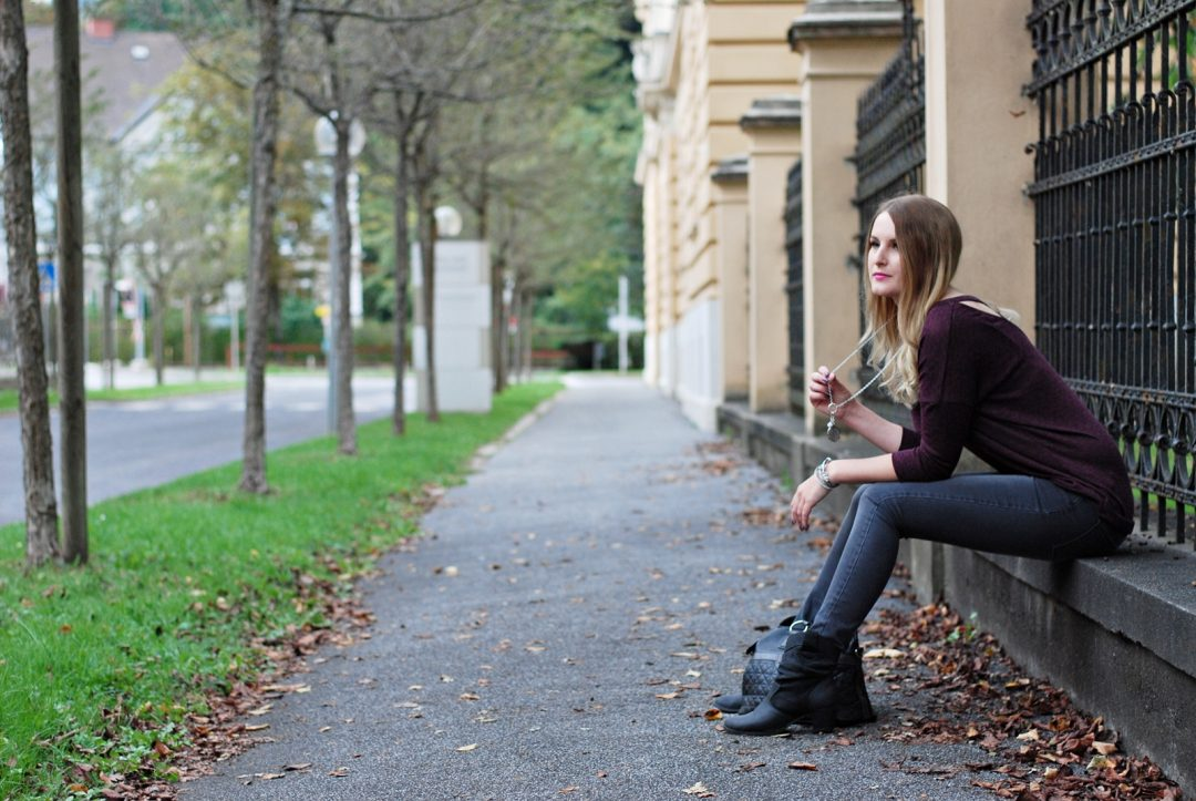 Casual Fall Outfit - Herbst Outfit Herbst Look Fashion - Fashionladyloves - Modeblogger - Fashionblog