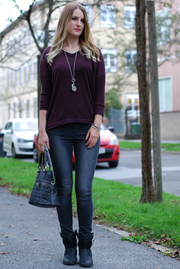 Casual Fall Outfit - Herbst Look - Mode - Fashion - Look - Streetstyle Kombination - Fashionladyloves by Tamara Wagner - Fashionblog