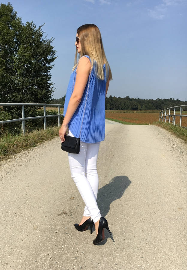 Knee Cut Jeans - sommerliches Outfit - Streetstyle Mode - Fashionladyloves by Tamara Wagner - Fashionblog