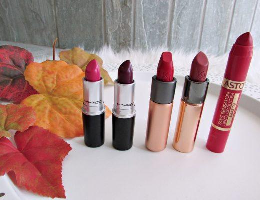 My Favorite Fall Lipsticks - Herbst Lippenstifte - Fashionladyloves - Beauty Blog