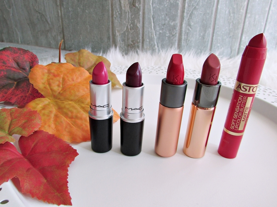 My Favorite Fall Lipsticks - Herbst Lippenstifte - Fashionladyloves - Beauty Blog