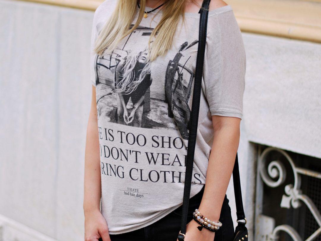 Statement Shirt - Outfit Fashion - Fashionladyloves - Fashionblog - Modeblog