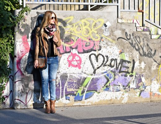 Ripped Jeans Fall Outfit - Fashionladyloves - Modeblog - Fashion Blogger