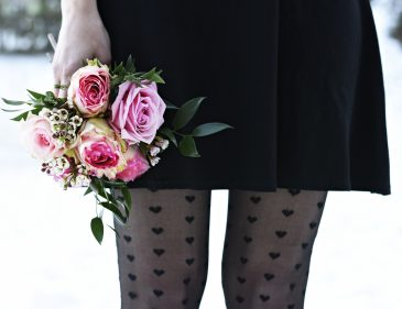 Valentinstag - Rosa Rosen - 7 Girls 7 Styles Blogparade - Fashionladyloves