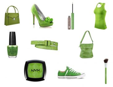 Trendfarbe des Jahres 2017 Greenery - Fashionladyloves