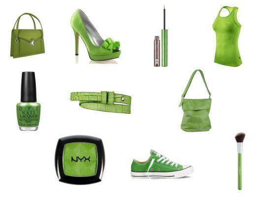 Trendfarbe des Jahres 2017 Greenery - Fashionladyloves