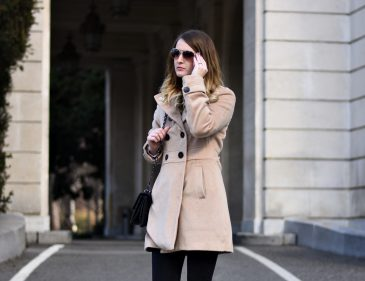 Camel Coat - Outfit - Fashionladyloves