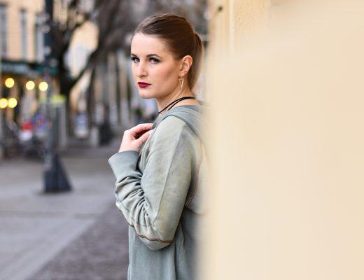 Fashion Challenge - Der Hoodie - Fishnet Tights - New Trend - Fashionladyloves