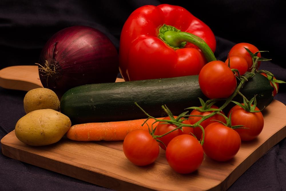 Food Photography - Gemüseteller - fashionladyloves