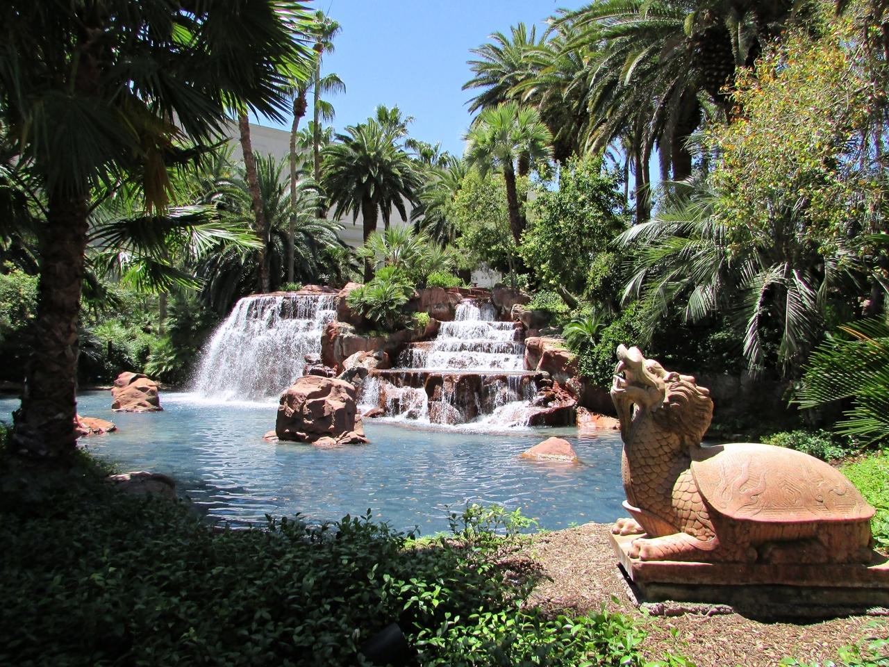 USA Rundreise - Amerika Westküste - Las Vegas Mirage Garden - Fashionladyloves