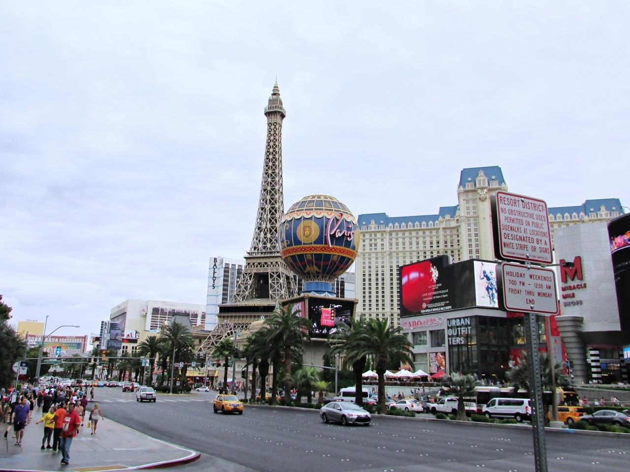 USA Rundreise - Amerika Westküste - Las Vegas Paris - Fashionladyloves