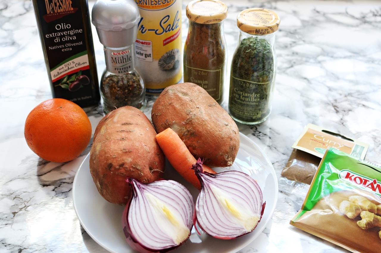 Vegane Süßkartoffelsuppe - Rezept - Fashionladyloves