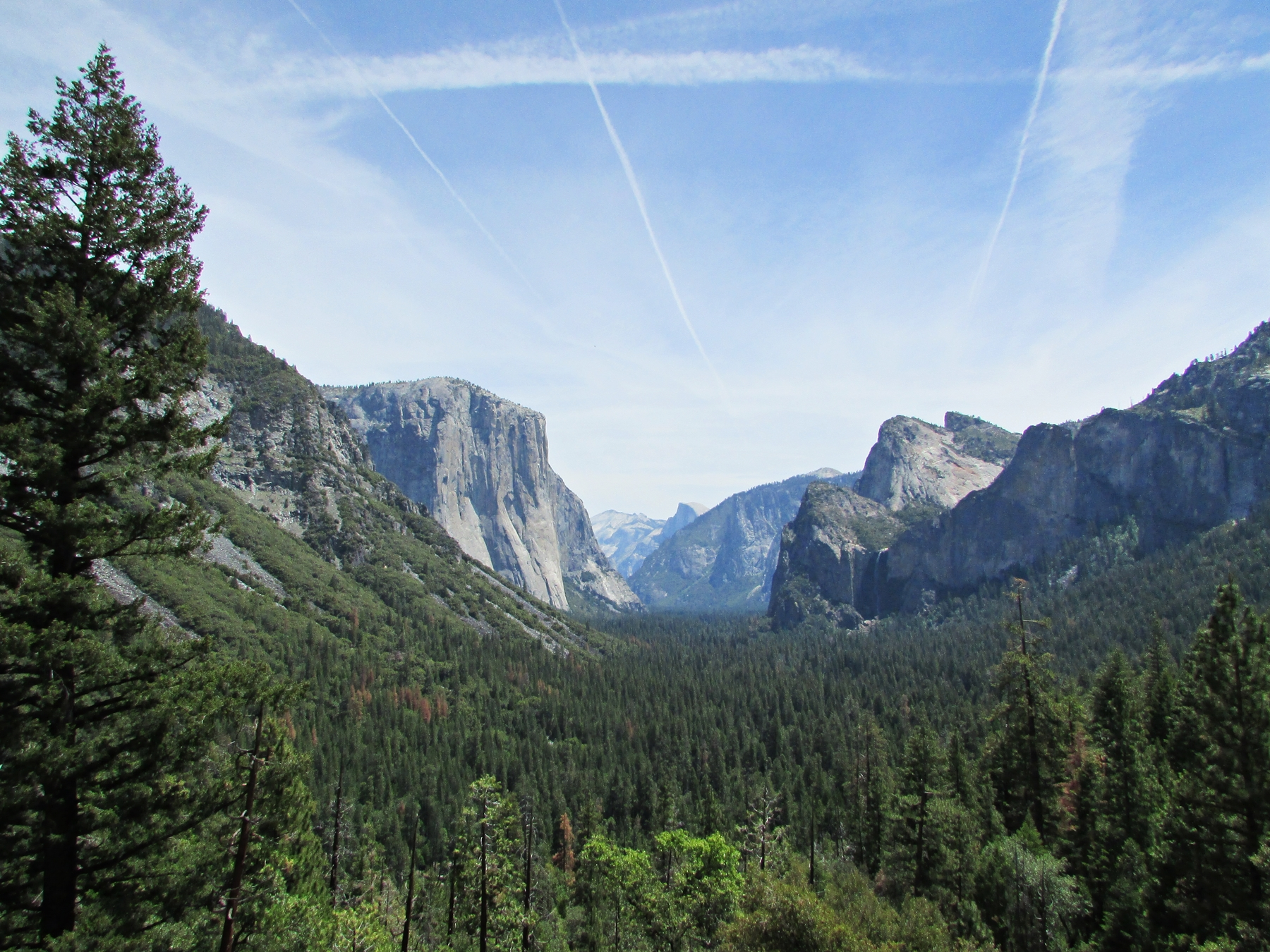 USA Rundreise - Amerika Westküste - Yosemite Nationalpark - Tunnel View - Fashionladyloves