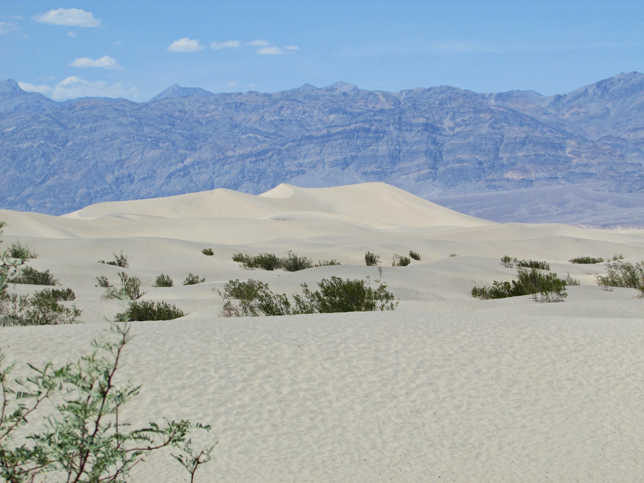 Westküste USA Rundreise - Death Valley Mesquite Sand Dunes - Fashionladyloves