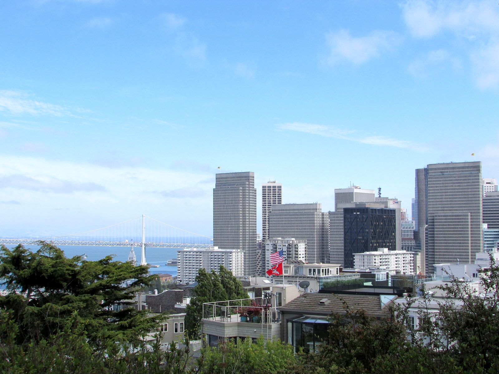San Francisco - Blick vom Coit Tower - USA Rundreise - Roadtrip - Reisebericht - Travel Diary - Fashionladyloves