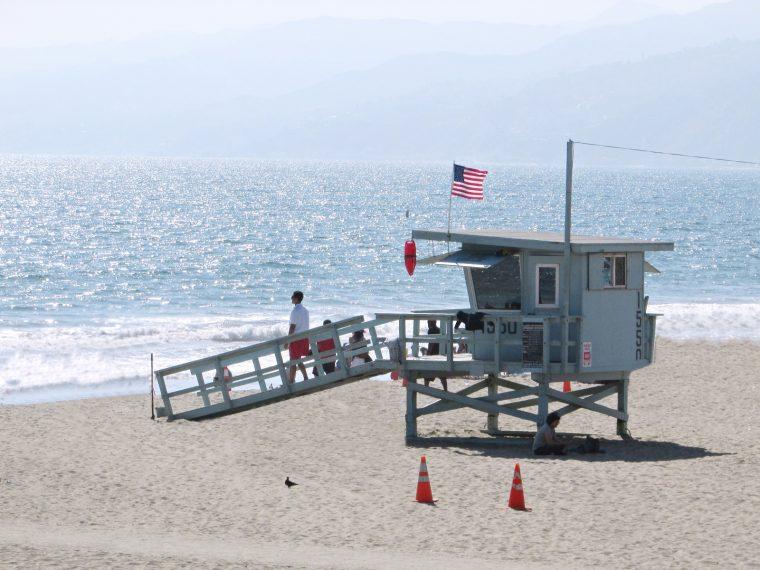 USA Rundreise - Amerika Westküste - Santa Monica - Strand Rettungsschwimmer - Fashionladyloves by Tamara Wagner