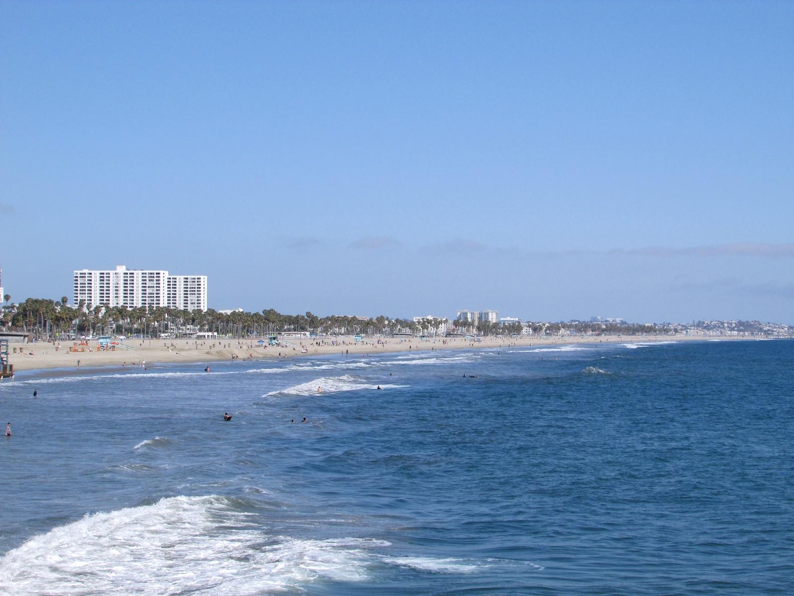 USA Rundreise - Amerika Westküste - Santa Monica - Strand - Fashionladyloves by Tamara Wagner