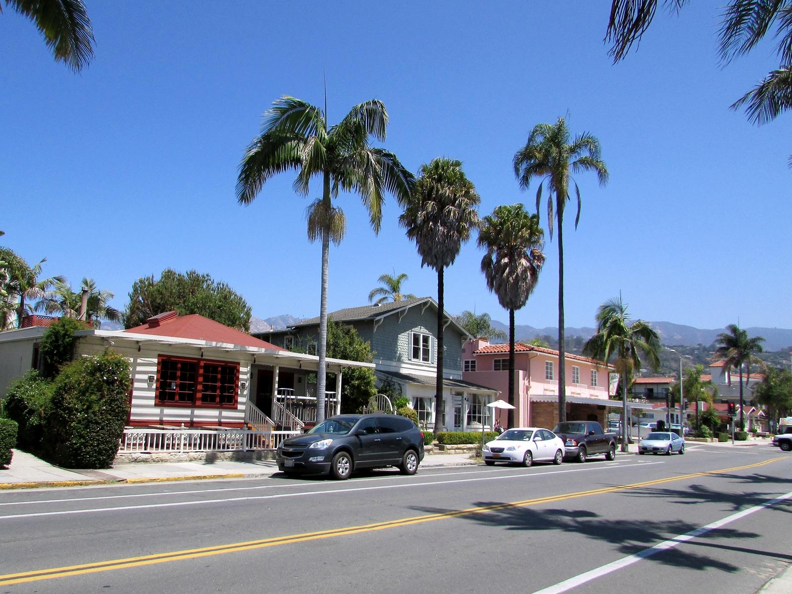 USA Rundreise - Amerika Westküste - Santa Barbara - Straße - Fashionladyloves by Tamara Wagner