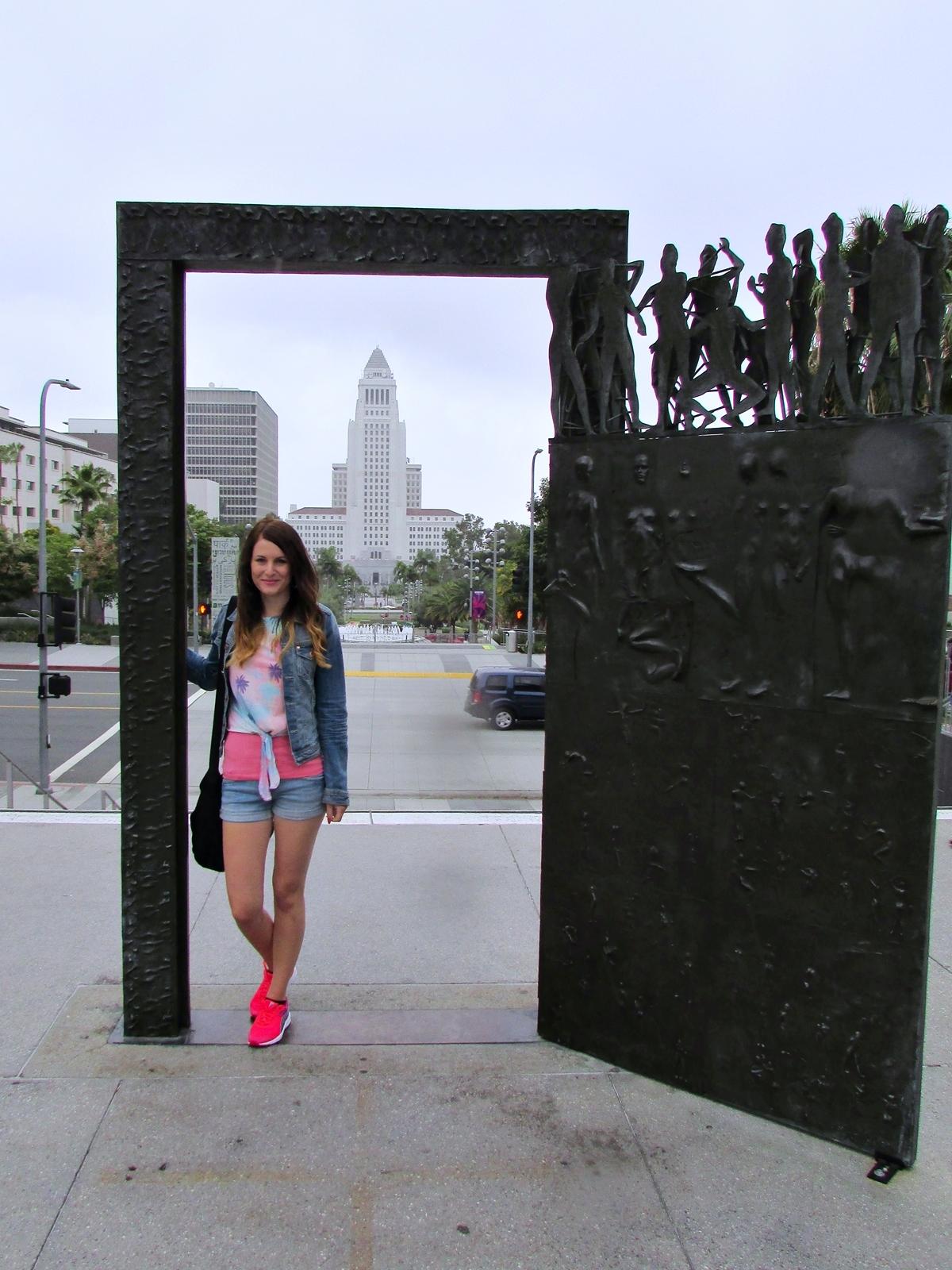 Los Angeles - Rathaus - LA City Hall - Rundreise - Roadtrip - Amerika - USA - Fashionladyloves by Tamara Wagner - Travelblog