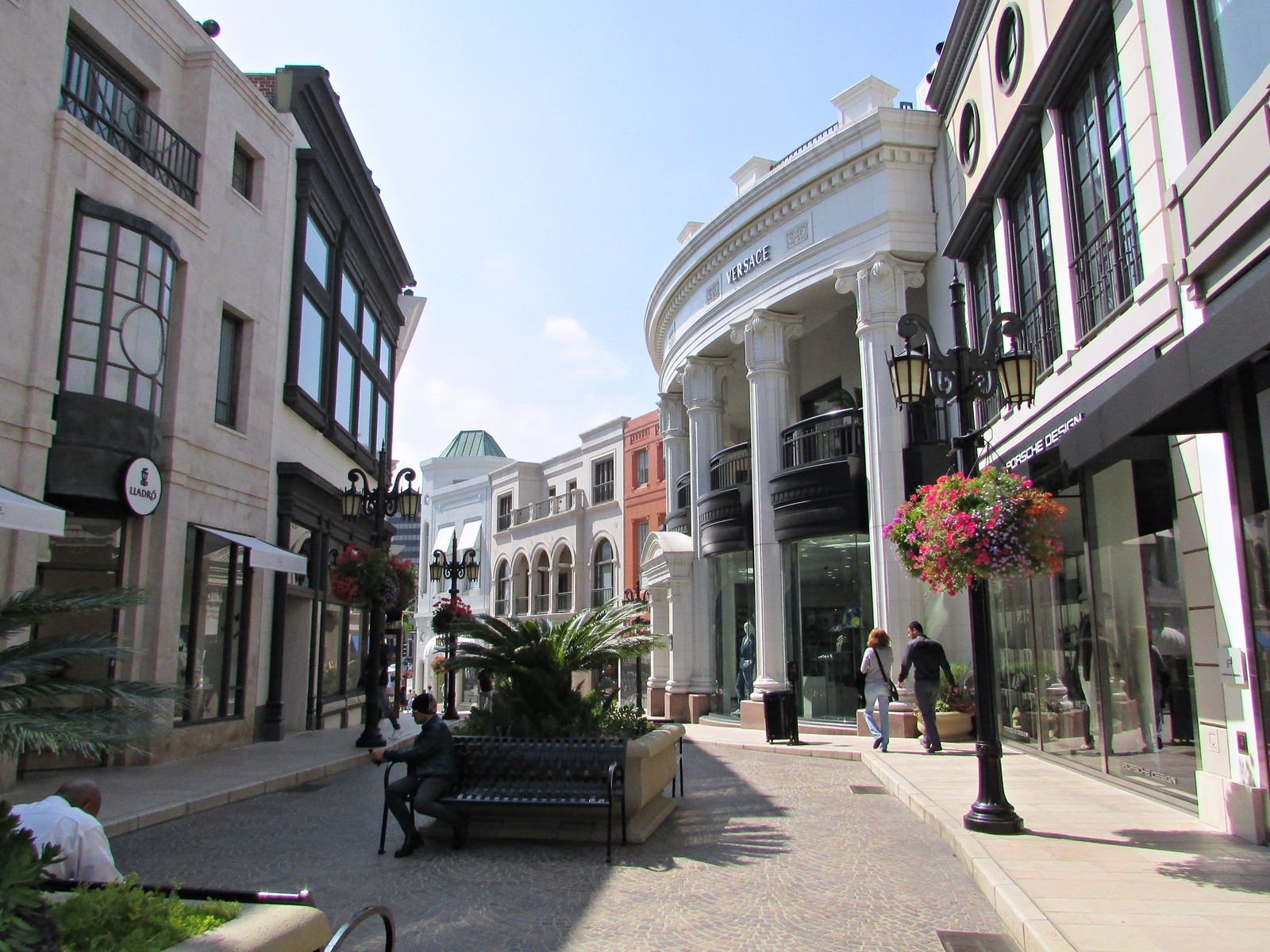 Rodeo Drive - Versace - USA Rundreise - Amerika Roadtrip - Fashionladyloves by Tamara Wagner - Travelblog