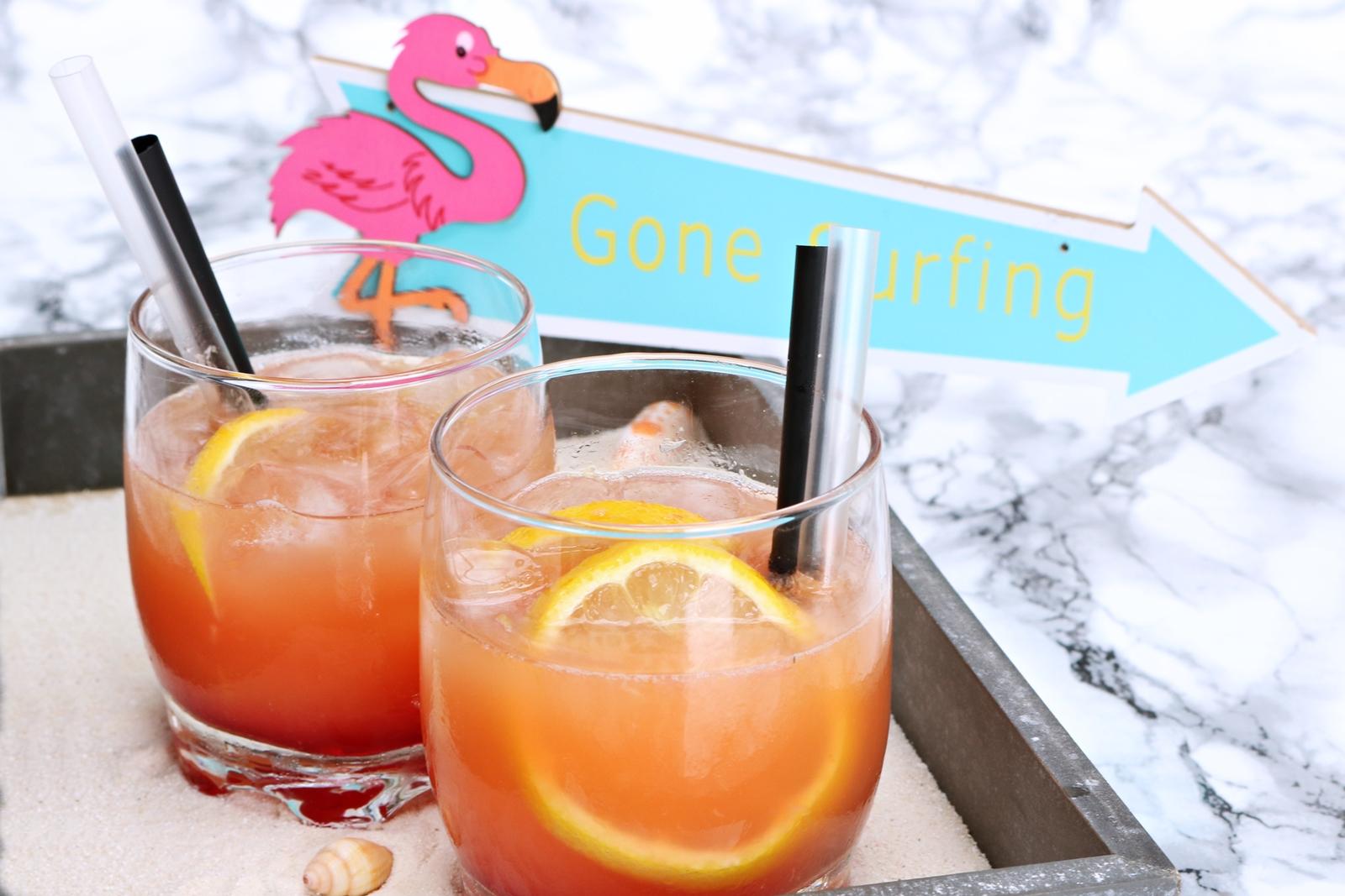 Flamingo Cocktail alkoholfrei - erfrischender exotischer Cocktail auch für Kinder geeignet - Rezept - Fashionladyloves by Tamara Wagner - Foodblog