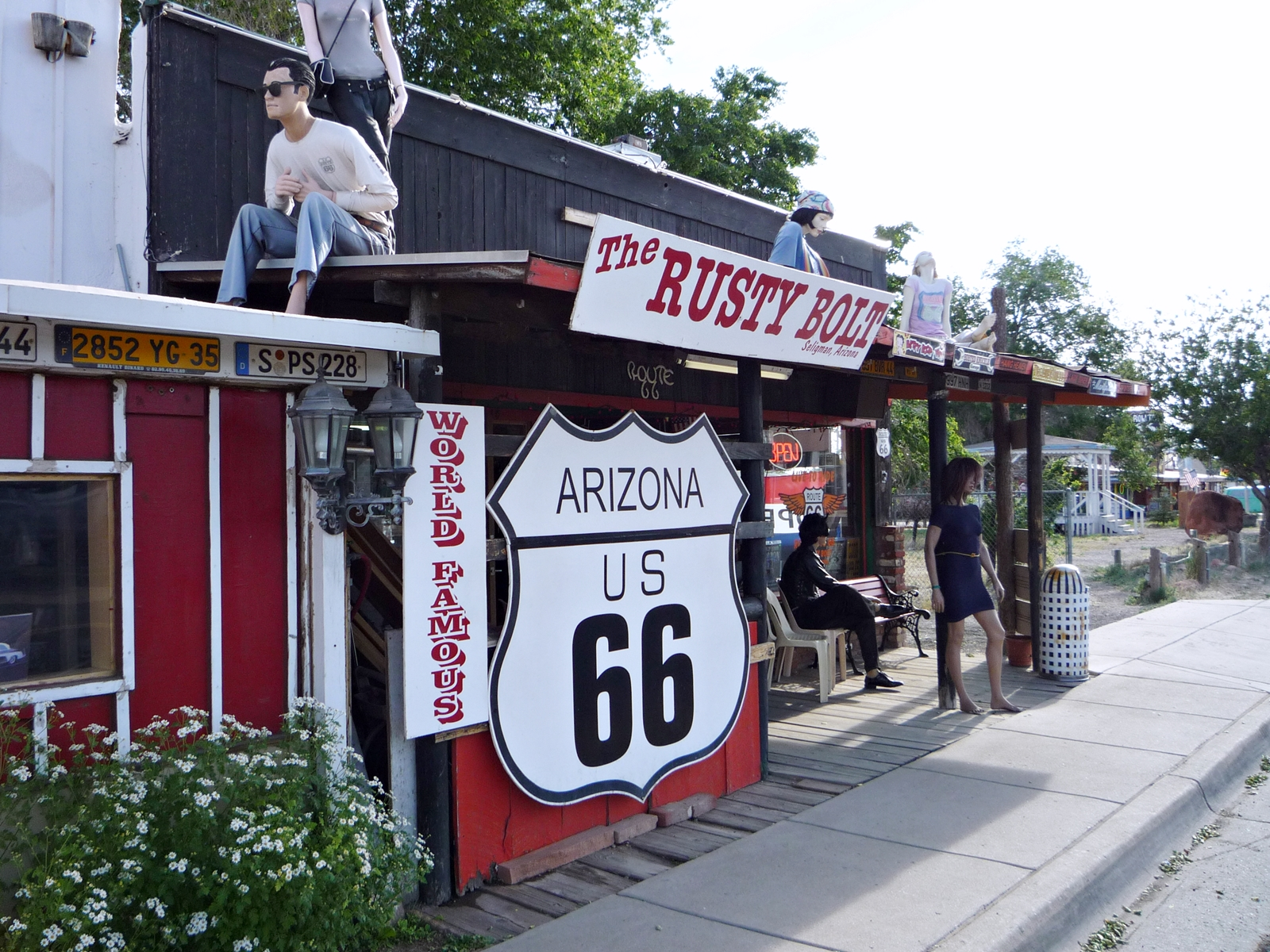 Seligman - Route 66 - USA Rundreise Westküste - Roadtrip - Fashionladyloves by Tamara Wagner - Travelblog