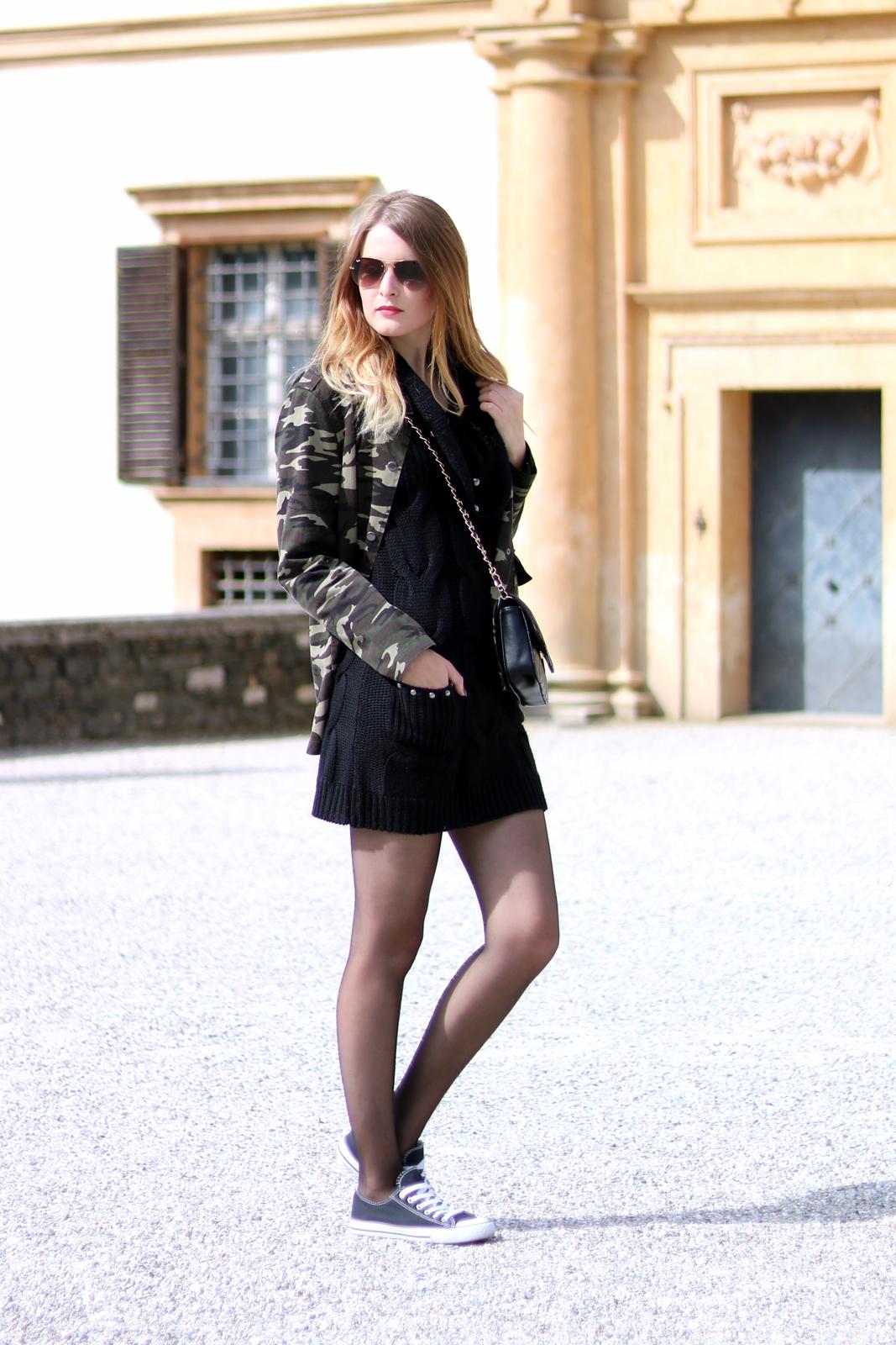 Schwarzes Strickkleid Wie Kombinieren Stilvolle Abendkleider In