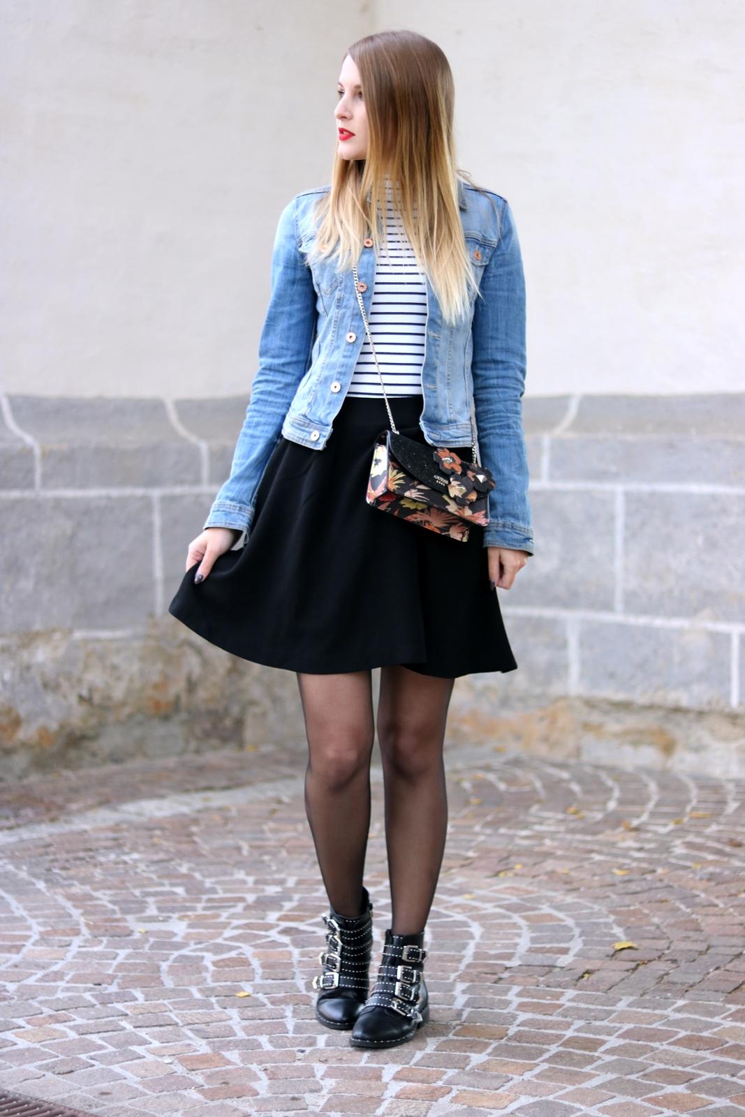 hot sale online d5c46 923a8 Zeitlose Modeklassiker #1 Die Jeansjacke - Fashionladyloves