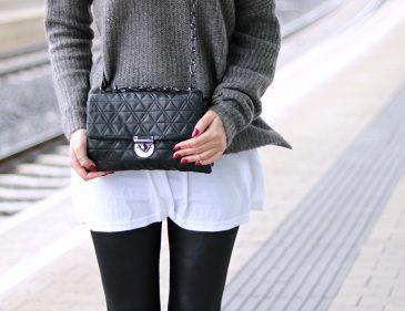 Lederleggings kombinieren - so stylst du diesen Herbst Trend - Herbst Look - Fall Outfit - Style - Streetstyle - Mode - Fashionladyloves by Tamara Wagner - Mode Blog