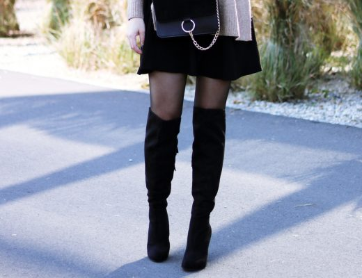 Overknees kombinieren - Blogparade - Stiefel Kombination - Streetstyle Look - Outfit - Fashion - Style - Mode Kombi - Alltagslook - feminin und schick - Fashionladyloves by Tamara Wagner - Mode Blog - Fashion Blog - Style Blog aus Graz Österreich