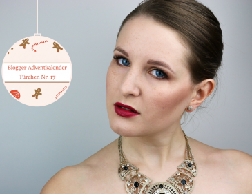 Make Up Look - Shiny Christmas - Weihnachts Make Up - Schminken - Make Up Tutorial - Schminkanleitung für Weihnachten - Kiko Arctic Holiday Limited Edition - Augen Make Up - Grundierung - Lippenstift - Beauty Blog - Fashionladyloves by Tamara Wagner - Blog aus Graz Österreich
