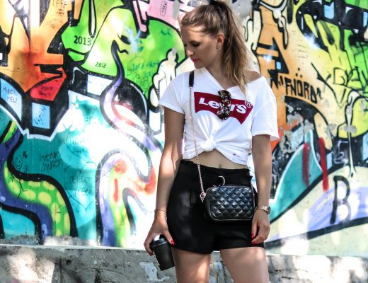 Leinen - das Trendmaterial für den Sommer - Sommertrend - bestes Kleidungsstück für den Sommer - luftig leichte Kleidung für den Sommer - sportlicher Look mit Leinen Shorts - Fashionladyloves by Tamara Wagner - Modeblog - Fashion Blog