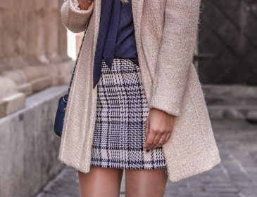 Der Tweed Trend - British Chic - Tweed kombinieren - Outfit mit Tweed Rock - Mode aus Tweed -Trend - Herbst Trend - Modetrend - Tweed Look - Fashionladyloves by Tamara Wagner - Modeblog - Fashion Blog