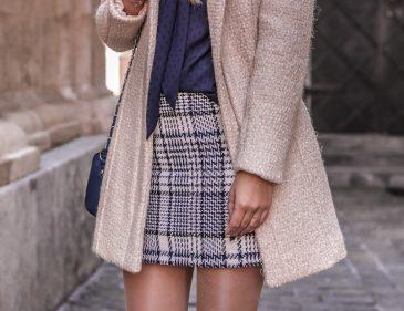 Der Tweed Trend - British Chic - Tweed kombinieren - Outfit mit Tweed Rock - Mode aus Tweed -Trend - Herbst Trend - Modetrend - Tweed Look - Fashionladyloves by Tamara Wagner - Modeblog - Fashion Blog