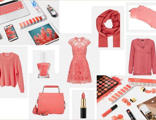 Die Trendfarbe des Jahres 2019 - Living Coral - Pantone Farbe des Jahres - Farbtrend in der Mode und im Bereich Beauty - Fashionladyloves by Tamara Wagner