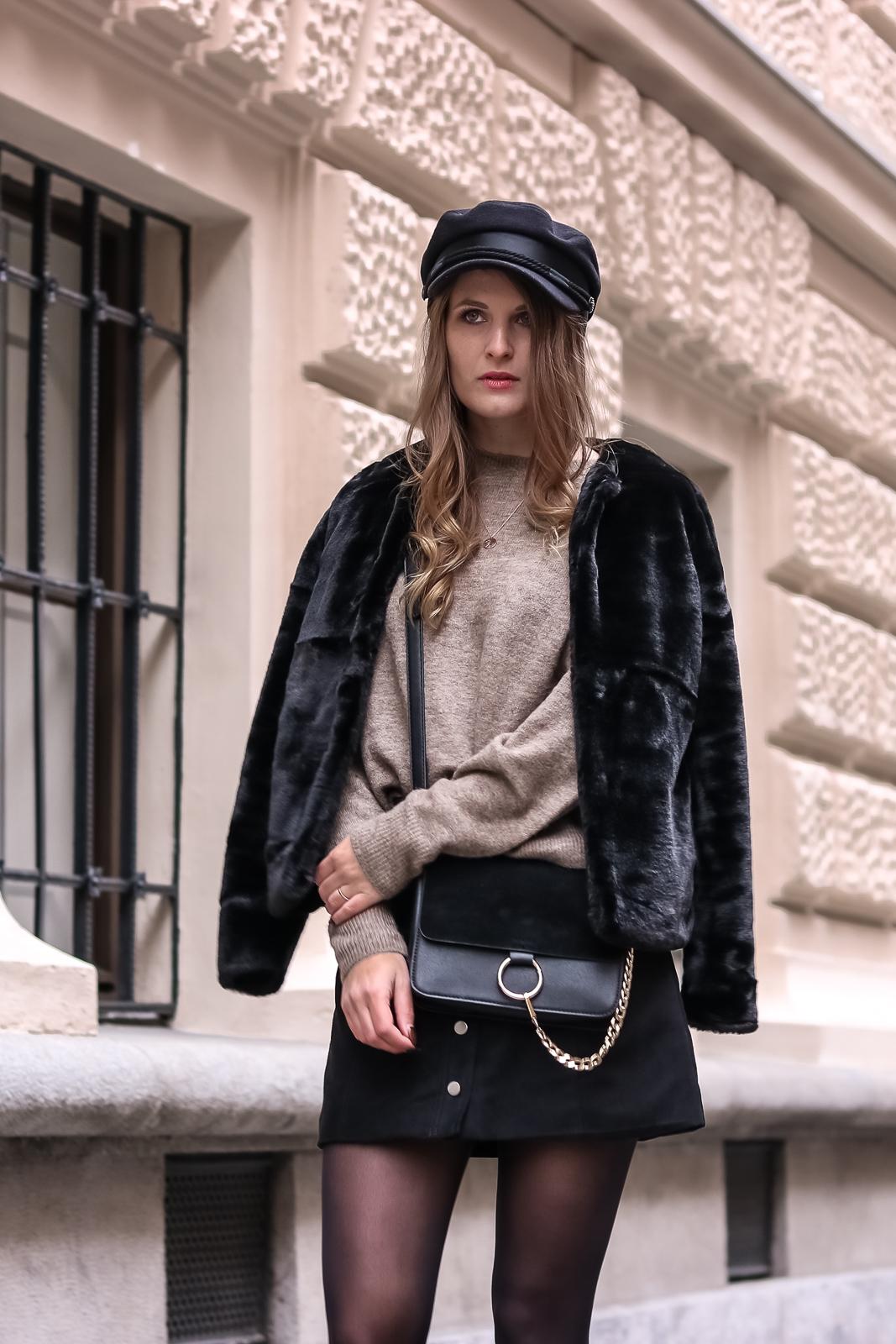 Fake Fur Jacken - Stylingtipps und Outfit Ideen - Kunstpelz Jacken und Mäntel kombinieren - Outfit Kombination mit Fake Fur Jacke - Fashion Tipps - Mode Tipps - Fashionladyloves by Tamara Wagner - Mode Blog aus Österreich