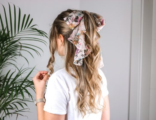 Tuch im Haar – 5 Möglichkeiten wie du den Trend einfach stylen kannst - Haarstyling - Tücher ins Haar binden - Hairstyle - Frisur für den Frühling und Sommer - einfache Frisur - schnelle Frisur für lange Haare - Fashionladyloves by Tamara