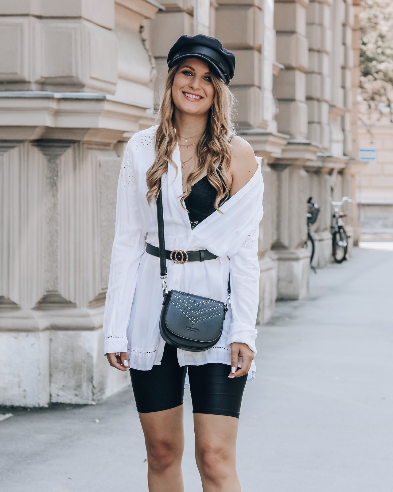 Die Radlerhose - so stylst du dieses Trendteil - Radlerhose kombinieren - Outfits mit Radlerhosen - Modetipps Radlerhose - so kombinierst du die Radlerhose für jeden Anlass - Fashionladyloves by Tamara Wagner - Modeblog aus Österreich